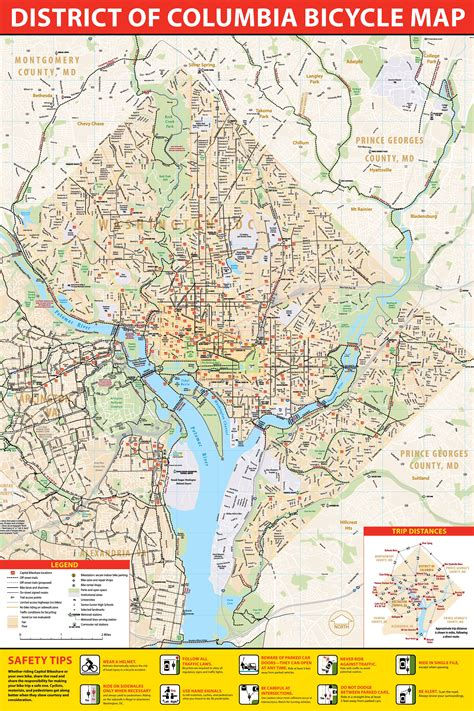 dc usa map the dc area is improving its walkability faster than