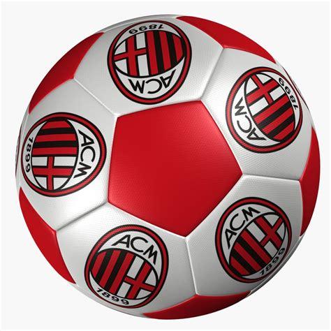 Ac Milan Signature 1 3d model soccer ac milan
