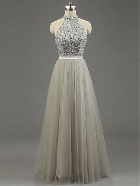 light gray formal dresses best 25 grey prom dress ideas on grey sparkly