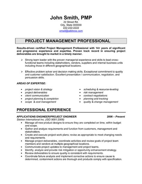 project engineer resume template premium resume sles
