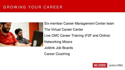 Ncsu Mba Concentration by Nc State Jenkins Mba Information Session