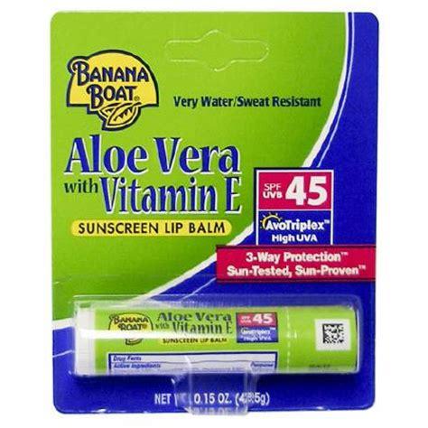 banana boat sunscreen lip balm review banana boat sunscreen lip balm 0 15 oz 3265584