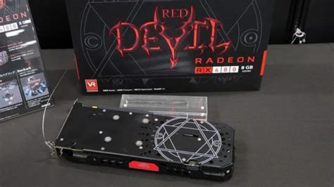 Vga Power Color Rx470 4gb Ddr5 powercolor rx 480 pictured with a custom backplate