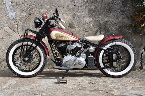 Indian Motorrad At by Motorrad Oldtimer Kaufen Indian Chief Bobber L 252 Chinger