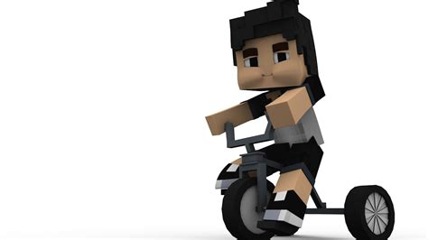 minecraft imac rig cinema 4d anz creations minecraft tricycle rig cinema 4d youtube