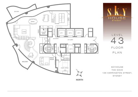 floor plans summit house skyhouse sydney the cove harrington street