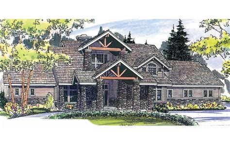 Cabin Style Home Plans Lodge Style House Plans Timberfield 30 341 Associated Designs