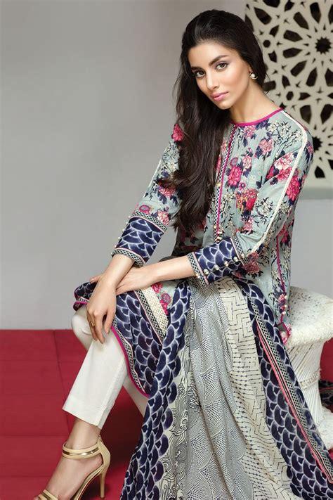 khaadi lawn chiffon eid dresses designs collection