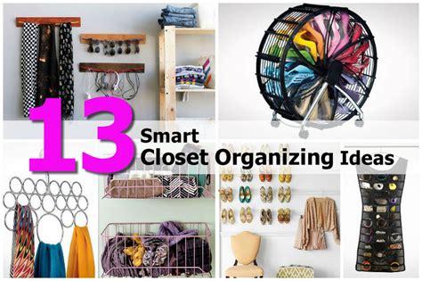 closet organizing ideas 13 smart closet organizing ideas
