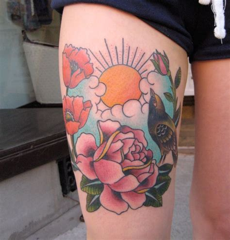 traditional sun tattoo 1000 ideas about on tattoos