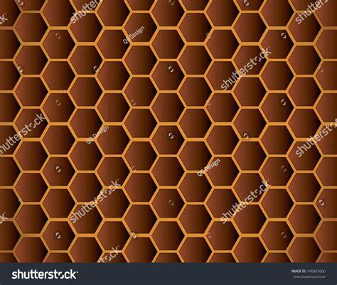 honeycomb pattern vector honeycomb pattern stock vector illustration 146897600
