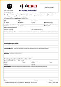 Incident Report Register Template by Doc 585650 Incident Form Template Incident Report