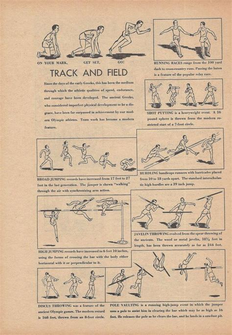 Track And Field Room Decor by Track And Field Sports Boys Bedroom Decor Vintage