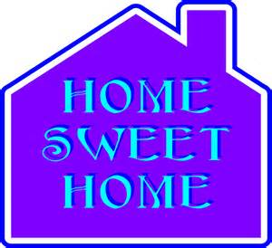 clipart home sweet home 2