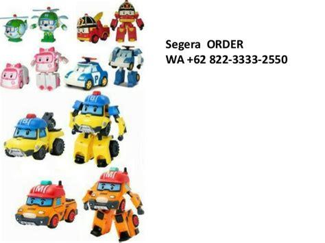 Robocar Poli Figur Termurah 1 termurah wa 62 822 3333 2550 robocar poli toys jual