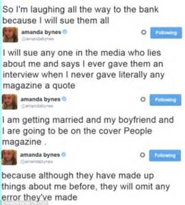 Wedding Quotes Ring Amanda Bynes Goes On A New Twitter Rant Claiming She Has Not Given Any Recent Interviews Daily