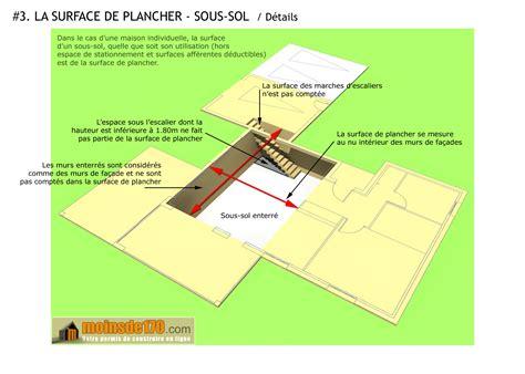 comment calculer la surface d une chambre surface de plancher illustration sur un projet de maison