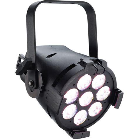 light etc etc colorsource par rgb l led wash light black
