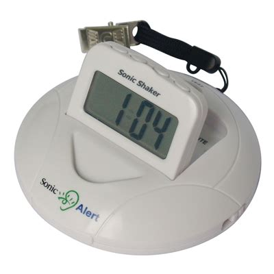 Alarm Mobil Sonic sonic shaker vibrating alarm clock phonic ear