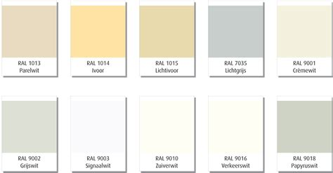 ral 9010 ral 9016 unterschied cando colors aflakservice