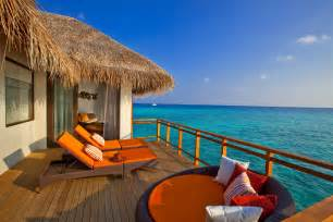 Modern Kitchen Island Design by Extraordinary Velassaru Island In The Maldives 12