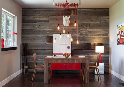 Wood Accent Wall In Dining Room Wood Accent Wall Ideas For Your Home