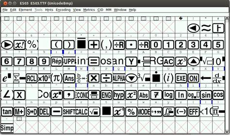 calculator font using custom font for a scientific calculator app in