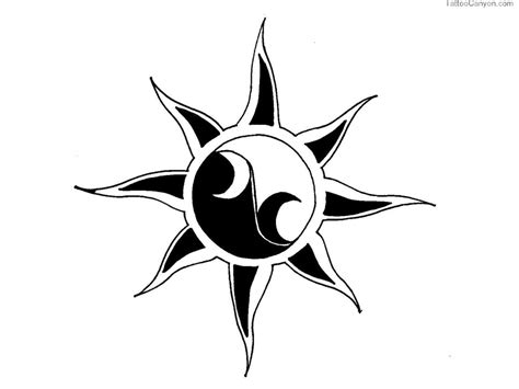 cool easy tattoo designs cool sun drawings cliparts co