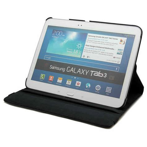 funda galaxy tab 3 funda 360 galaxy tab 3 10 1 negra funda de tablet