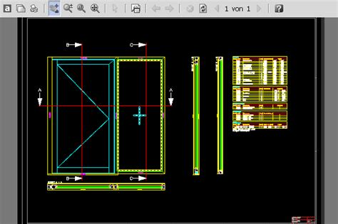 door section dwg syscad team gmbh autocad software for metal