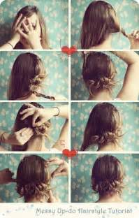 Cute Hairstyle Step By Step by 5 Minute Hairstyle Step By Step Guide