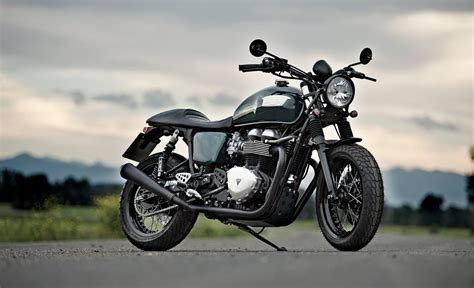 Racing Caf 232 Triumph Thruxton Quot British Racing Green Quot By