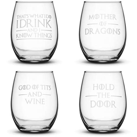 Integrity Bottles Sand Carved Glasses And Etched Drinkware