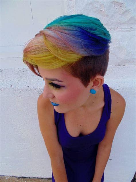 ways to dye short hair 25 best ideas about dyed pixie cut on pinterest pixie