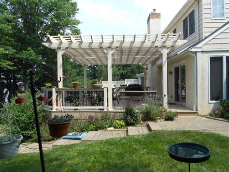 Decks With Pergolas Deck Construction Decks R Us Decks With Pergolas
