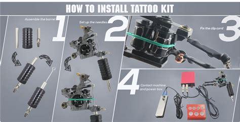 beginners tattoo kit wholesale 1 kit pro tatoo kits of beginners