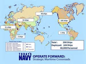 map us navy fleets the 2020 navy bigger tougher possibly war is
