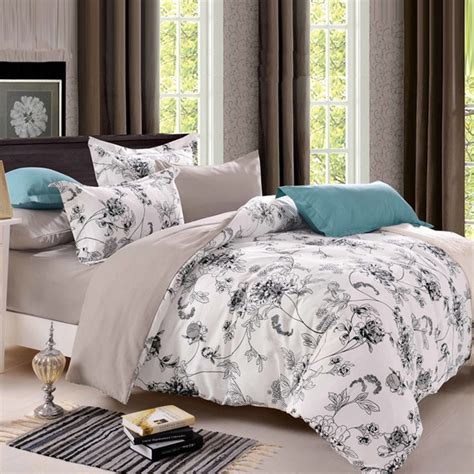 Size Duvet Sookie Size Bedding Sets Pastoral Bird Printed