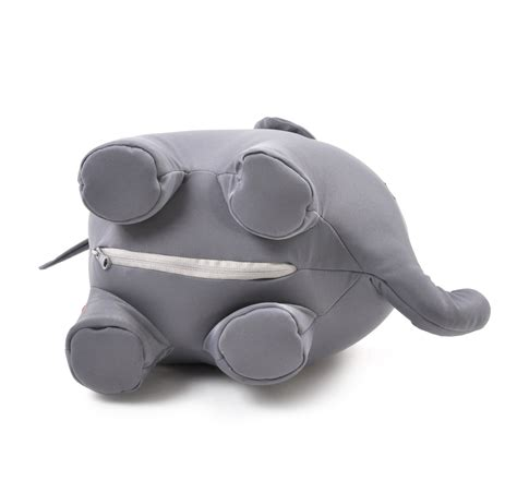 Zip & Flip Elephant Pillow   Cuddly Elephant Transforms