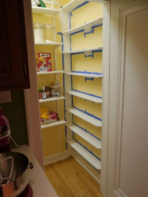 Shallow Pantry Shelves Shallow Spice Wall In Pantry Home Sweet Home
