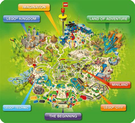 legoland 174 malaysia theme park map wow didn t about