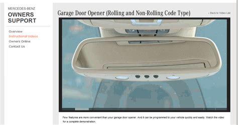 How To Set Up Mercedes Garage Door Opener by Bittorrenthype