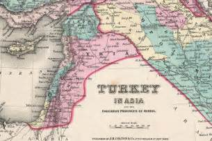 Turkey Syria Map by Know Your History A Map Of Palestine 1855 Israellycool