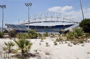 Athens olympic games venues lie abandoned and left to decay ten