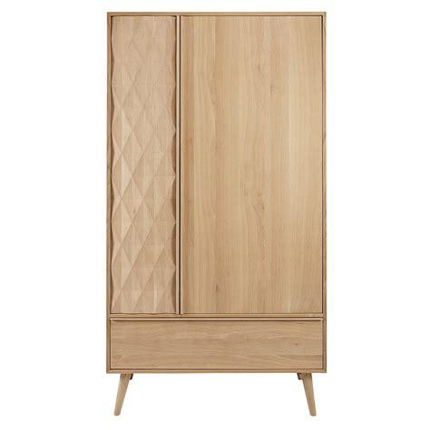 guardaroba 2 ante guardaroba a 2 ante e 1 cassetto in legno massello di