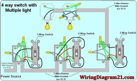 4 way light switch wiring 4 way switch wiring diagram house electrical wiring diagram