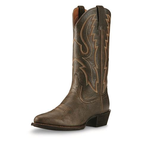 ariat s western boots ariat s sport r toe western boots 698662 cowboy