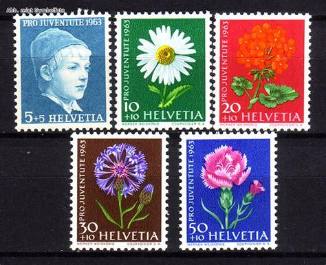 Briefmarken Schweiz Brief briefmarken schweiz michel nr 786 790 pro juventute