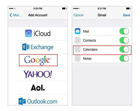 How Do You Sync Calendars On Iphone How To Sync Contacts And Calendars With Iphone