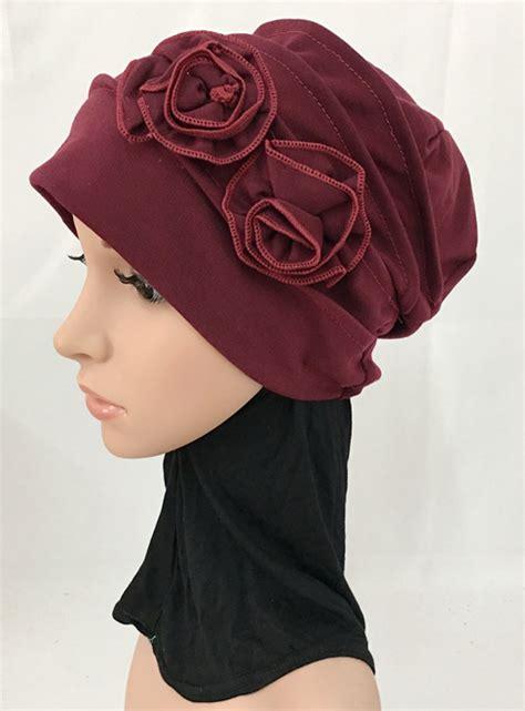 Flower Muslim ramadan flower muslim inner caps arab shawls headwear islamic hats scarf ebay